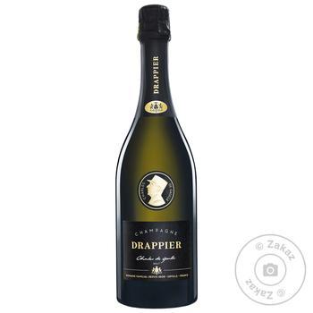 Шампанское Drappier Charles de Gaulle белое брют 12% 0,75л