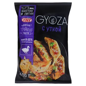 Пельмени Vici Gyoza с мясом утки замороженные 400г - купить, цены на СитиМаркет - фото 1