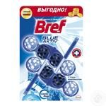 Bref Blocks for the toilet with chlorine component 2X50g