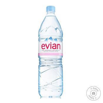 Вода минеральная Evian негазированная 1,5л - купить, цены на Восторг - фото 2