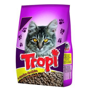 Tropi Cats Feed With Bird 400g