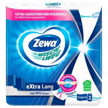Полотенца кухонные Zewa Wisch&Weg бумажные 2рул - купить, цены на Ашан - фото 6