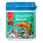 Food Topsi dry for fish 100g plastic jar