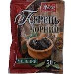 Spices black pepper Deko ground 50g