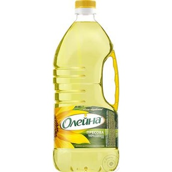 Oleina Presova Refined sunflower oil 1,8l - buy, prices for Novus - image 1