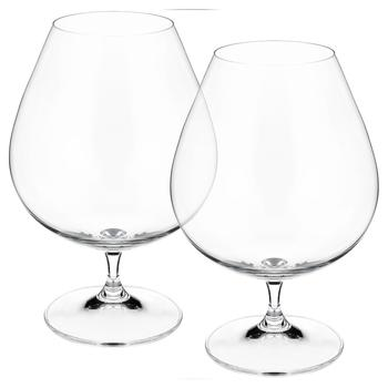 Bohemia Crystal Vintage Cognac Glass Set 875ml 2pcs