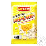 Попкорн Mc'Corn со вкусом сыра для микроволновки 90г - купить, цены на Novus - фото 1