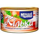Morskoy Mir Black Sea Sprat in Tomato Sauce 240g