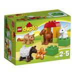 Конструктор Лего Дупло Вилль Животные на ферме для детей от 2 до 5 лет 12 деталей