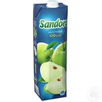 Sandora apple juice 950ml - buy, prices for Auchan - image 1