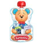Bambolina Apple-Blueberry-Cream Puree for Children from 6 months 90g