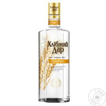 Khlibnyy Dar Wheat Vodka 40% 0.7L