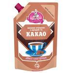 Молоко згущене Заречье з цукром і какао 7.5% 270г