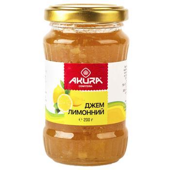 Джем Akura лимонный 200г - купить, цены на СитиМаркет - фото 1