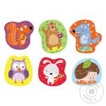 DoDo Puzzle 2-3-4 Elements Forest Animals 9 elements - buy, prices for MegaMarket - image 2