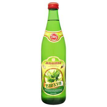 Напиток Мимино Тархун безалкогольный сильногазированный на вкусо-ароматическом растительном сырье стеклянная бутылка 500мл Украина
