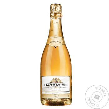 Шампанское Багратиони Золотое п/сл белое 0,75л - купить, цены на Таврия В - фото 1
