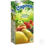 Сок Садочок Мультивитамин с мякотью 0.95л - купить, цены на Фуршет - фото 1