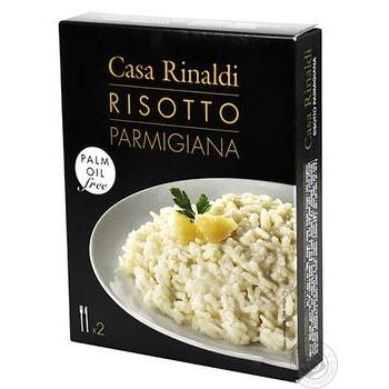 Суміш для різотто Casa Rinaldi з сиром Пармезан 175г - купити, ціни на МегаМаркет - фото 1
