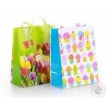 Пакет для подарков бумажный мини в ассортименте - купить, цены на Ашан - фото 5