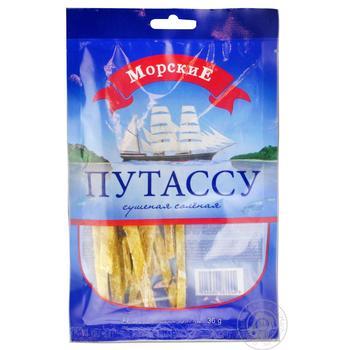 Путассу Морские сушеная соленая 36г - купить, цены на МегаМаркет - фото 1