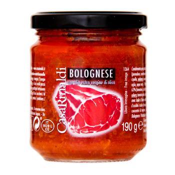 Соус томатний Casa Rinaldi Болонь'єзе 190г - купити, ціни на МегаМаркет - фото 1