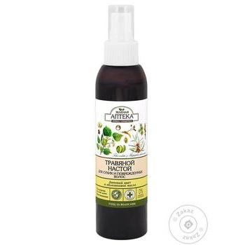 Zelena Apteka Linden Blossom and Sea Buckthorn Oil Herbs Infusion for Hair 150ml