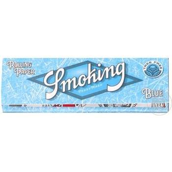 Бумага для самокруток Smoking Blue 60шт