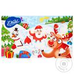 Набор шоколадный E.Wedel Рождественский Адвент-календарь из молочного шоколада с начинками ассорти 194г