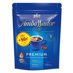 Кофе Ambassador Premium натуральный растворимый сублимированный 250г