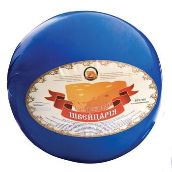 Сыр Элитсыр Швейцария твердый 45% Украина - купить, цены на Novus - фото 2