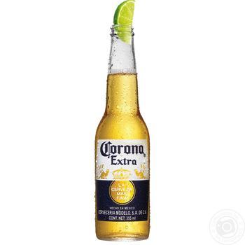 Пиво Corona Extra 4,5% 0,355л