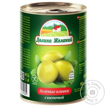 olive Dolina jelaniy green with bone 260g can - buy, prices for MegaMarket - image 1
