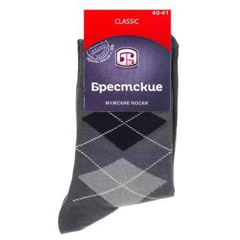 Носки хлопчатобумажные Брестские classic мужские 29р - купить, цены на СитиМаркет - фото 1