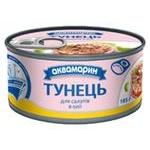 Fish tuna Akvamaryn canned 185g can