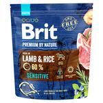 Корм Brit Premium Sensitive сухой с чувствительным пищеварением со вкусом ягненка для собак 1кг