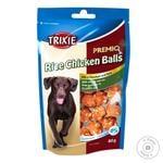 Treats for dogs Trixie PREMIO Rice Chicken Balls chicken 80g