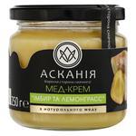 Мед-крем Аскания имбирь и лемонграсс 250г