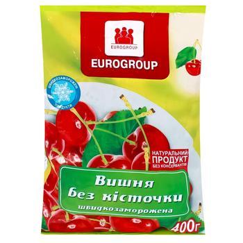Вишня Eurogroup быстрозамороженная без косточки 400г