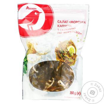 Салат Ашан Морская капуста с сельдереем по-корейски 350г
