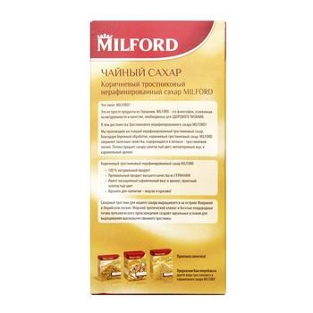 Milford Cane Brown Sugar for Tea 500g - buy, prices for CityMarket - photo 5
