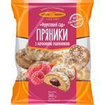 Kyivhlib Fruktovy Sad Gingerbread with Raspberry Filling 360g