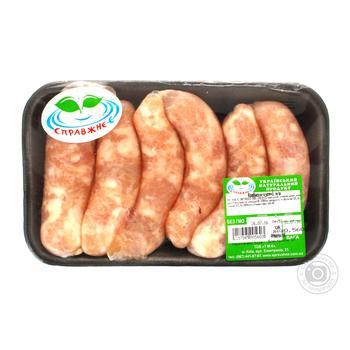 Колбаски куриные Справжнє-є охлажденные - купить, цены на Ашан - фото 2