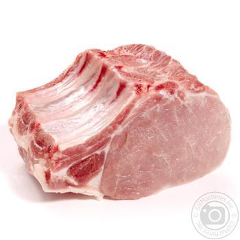 Биток свиной охлажденный с костью - купить, цены на Фуршет - фото 1