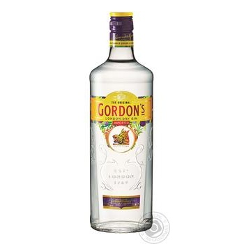 Gordon's London Dry Gin 37,5% 0,75l - buy, prices for Furshet - image 1