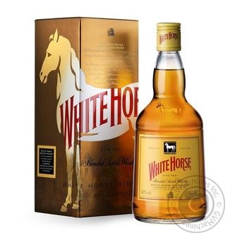 White horse Fine Old Wiskey 40% 0,7l - buy, prices for Novus - image 1