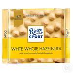 Шоколад белый Ritter Sport с целыми орехами 100г