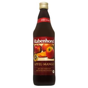 Сік Rabenhorst Яблуко-манго органічний 0,75л