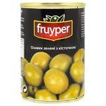 Оливки Fruyper зеленые с косточкой 300мл