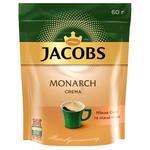 Кофе Jacobs Monarch Crema растворимый 60г